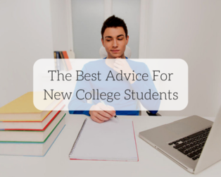 Content the best advice for new college students