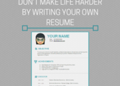 Slide don t make life harder by writing your own resume
