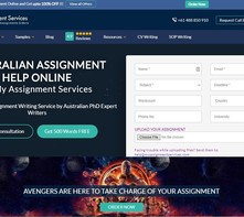 Content myassignmentservices review screen