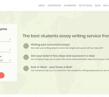Writing Essay East review logo
